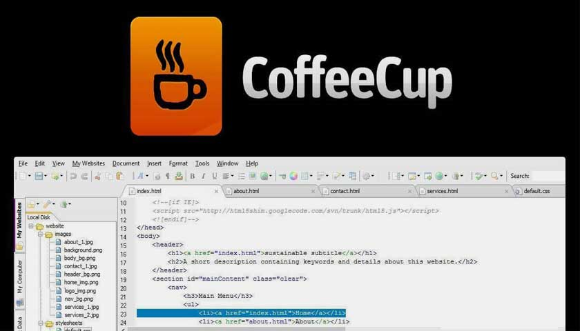 Coffee-Cup-Free-HTML-review-news
