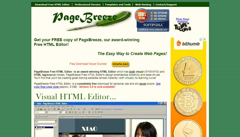 PageBreeze-review-news