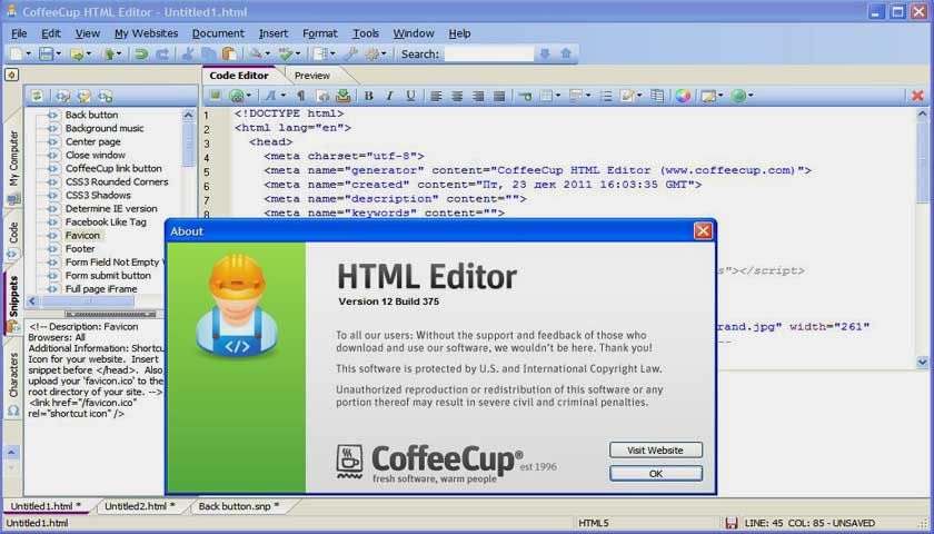 review-Coffee-Cup-Free-HTML-news